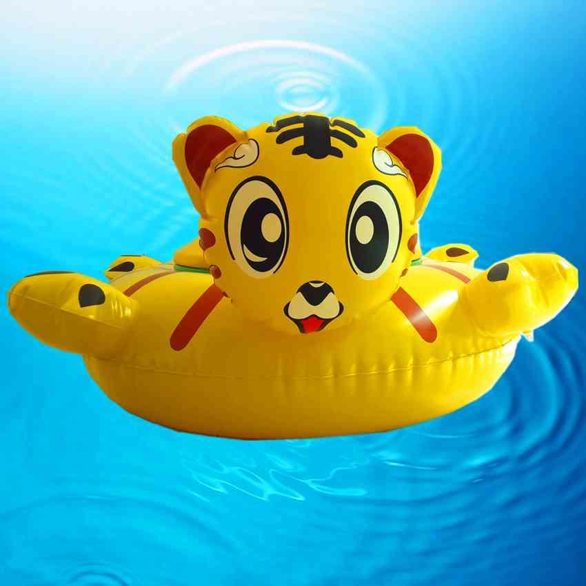 可爱老虎碰碰船